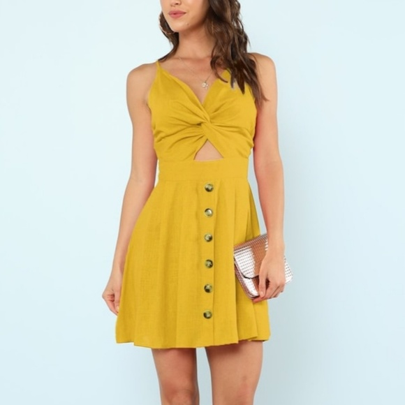 Dresses & Skirts - Yellow Summer Dress